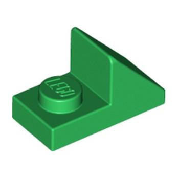 LEGO 6226931 TUILE 1X2 45° W 1/3 PLATE - DARK GREEN lego-6226931-tuile-1x2-45-w-13-plate-dark-green ici :
