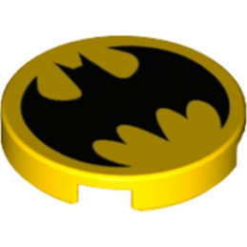 LEGO 6151937 IMPRIME BATMAN ROND 2X2