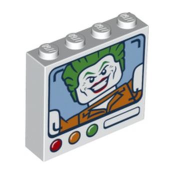 LEGO 6271401 BRIQUE 1X4X3 - IMPRIME LE JOKER