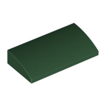 LEGO 6037591 BRIQUE DOME 2X4X2/3 - EARTH GREEN