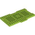 LEGO 6250177 PLATE 8X16X6,4 MM - BRIGHT YELLOWISH GREEN