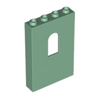 LEGO 6266736 MUR / CLOISON 1X4X5 - SAND GREEN