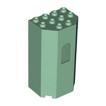 LEGO 6266729 TOUR 4X3X6 - SAND GREEN lego-6266729-tour-4x3x6-sand-green ici :