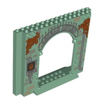 LEGO 6271177 CLOISON / MUR 4X16X10  SAND GREEN lego-6271177-cloison-mur-4x16x10-sand-green ici :