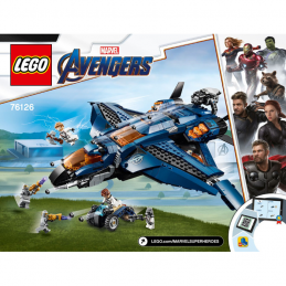 Notice / Instruction Lego Super Heroes 76126