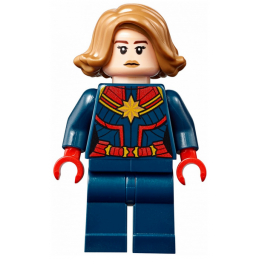 Mini Figurine LEGO® : Super Heroes - Captain Marvel