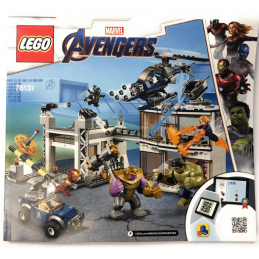 Notice / Instruction Lego Super Heroes 76131 notice-instruction-lego-super-heroes-76131 ici :