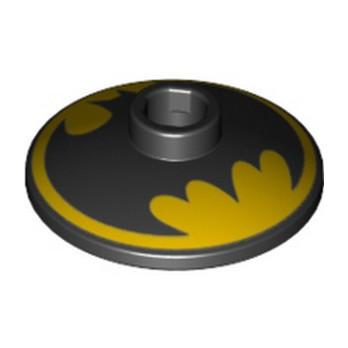 LEGO 6271081 PARABOL 2X2 IMPRIME BATMAN