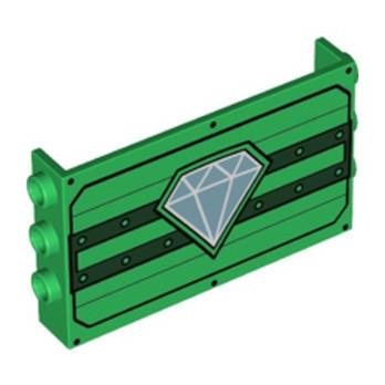 LEGO 6288469 MUR / CLOISON 1X6X3 IMPRIME - DARK GREEN lego-6288469-mur-cloison-1x6x3-imprime-dark-green ici :