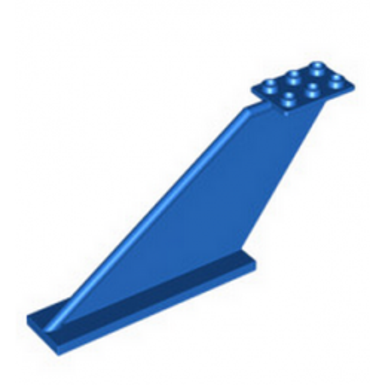 LEGO 6058861 DERIVE / GOUVERNAIL  2X12X5 - BLEU