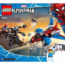 Notice / Instruction Lego Super Heroes 76150