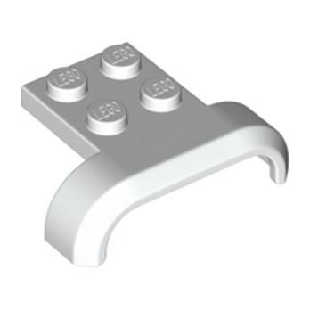 LEGO 6252931 GARDE BOUE 3X4 - BLANC lego-6252931-garde-boue-3x4-blanc ici :