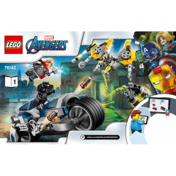 Notice / Instruction Lego Super Heroes 76142 notice-instruction-lego-super-heroes-76142 ici :
