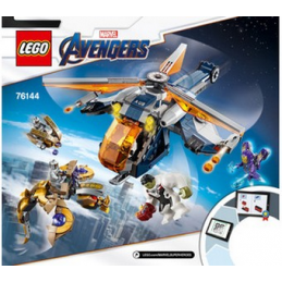 Notice / Instruction Lego Super Heroes 76144