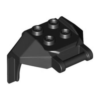 LEGO 6288460 DESIGN, BRICK 4X3X3, W/ 3.2 SHAFT - NOIR lego-6288460-design-brick-4x3x3-w-32-shaft-noir ici :