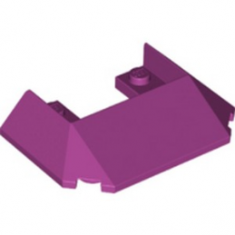 LEGO 6295119 ROOF FRONT 6X4X1 - MAGENTA