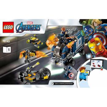 Notice / Instruction Lego Super Heroes 76143 notice-instruction-lego-super-heroes-76143 ici :