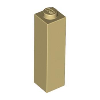 LEGO 6057517 BRIQUE 1X1X3 - BEIGE