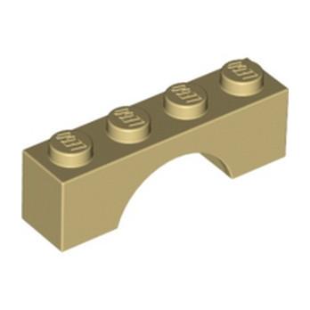 LEGO 365905 BRIQUE ARCHE 1X4 - BEIGE