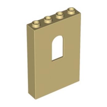 LEGO 6006789 MUR / CLOISON 1X4X5 - BEIGE
