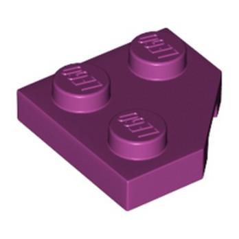 LEGO 6249742 PLATE 2X2, CORNER, 45 DEG. - MAGENTA lego-6249742-plate-2x2-corner-45-deg-magenta ici :