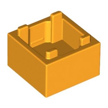 LEGO 6279767 BOX 2X2 - FLAME YELLOWIH ORANGE