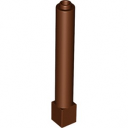 LEGO 4520612 COLONNE 1X1X6 - REDDISH BROWN