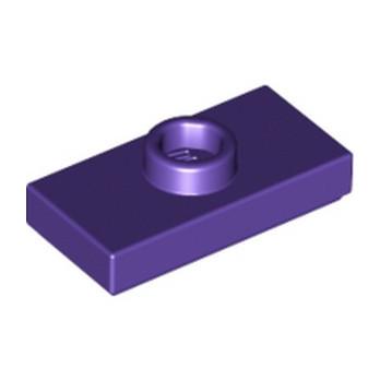 LEGO 4225239 PLATE 1X2 W. 1 KNOB - MEDIUM LILAC