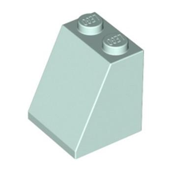 LEGO 6191645 TUILE 2X2X2/65 DEG. - AQUA