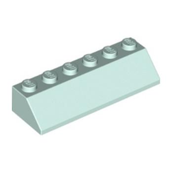 LEGO 6282863 TUILE 2X6 45° - AQUA
