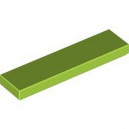 LEGO 4164021 PLATE LISSE 1X4 - BRIGHT YELLOWISH GREEN