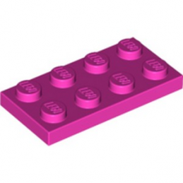 LEGO 6056263 PLATE 2X4 - ROSE
