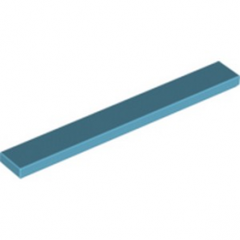 LEGO 6078339 PLATE LISSE 1X8 - MEDIUM AZUR