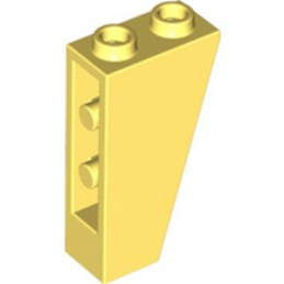 LEGO 6222971 ROOF TILE 1X2X3/74° INV. - COOL YELLOW
