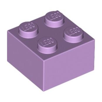 LEGO 6099349 BRIQUE 2X2 - LAVENDER lego-6099349-brique-2x2-lavender ici :