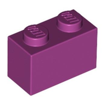 LEGO 4519195 BRIQUE 1X2 - MAGENTA