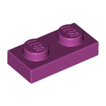 LEGO 4623160  PLATE 1X2 - MAGENTA lego-6103415-plate-1x2-magenta ici :