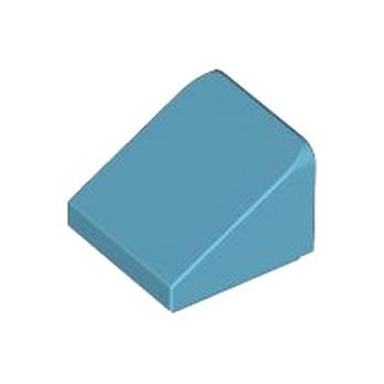 LEGO 4619520 TUILE 1X1X2/3 - MEDIUM AZUR lego-4619520-tuile-1x1x23-medium-azur ici :