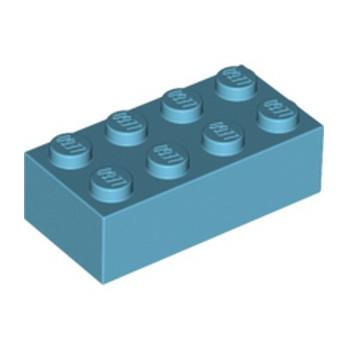LEGO 4625629 BRIQUE 2X4 - MEDIUM AZUR