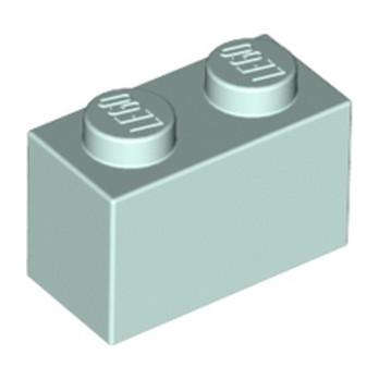 LEGO 6022032 BRIQUE 1X2 - AQUA