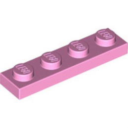 LEGO 6002148  PLATE 1X4 - ROSE CLAIR
