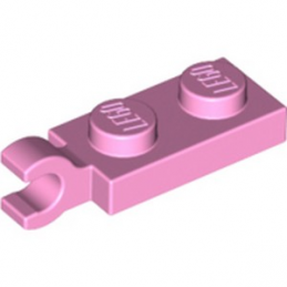 LEGO 6056228 PLATE 2X1 W/HOLDER,VERTICAL - ROSE CLAIR