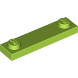 LEGO 6058127 PLATE 1X4 W. 2 KNOBS - BRIGHT YELLOWISH GREEN lego-6058127-plate-1x4-w-2-knobs-bright-yellowish-green ici :