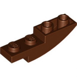 LEGO 6092566 BRIQUE 1X4X1 INV. - REDDISH BROWN