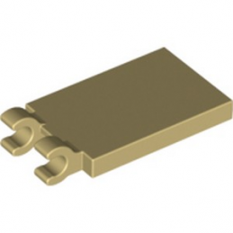LEGO 6191626 PLATE 2X3 W. HOLDER - BEIGE lego-6191626-plate-2x3-w-holder-beige ici :
