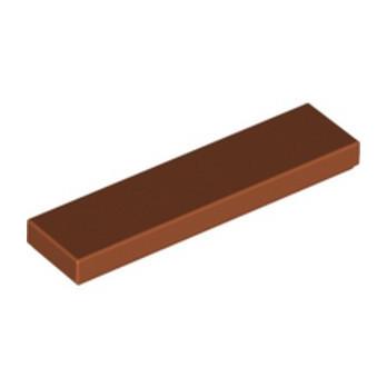 LEGO 4165523 PLATE LISSE 1X4 - DARK ORANGE lego-6074893-plate-lisse-1x4-dark-orange ici :