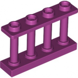 LEGO 6277611 CLOTURE / BARRIERE 1X4X2 - MAGENTA