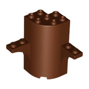 LEGO 6276850 WALL 3X3X5, W/ ARCH, 1X4 CIRCLE - REDDISH BROWN lego-6276850-wall-3x3x5-w-arch-1x4-circle-reddish-brown ici :
