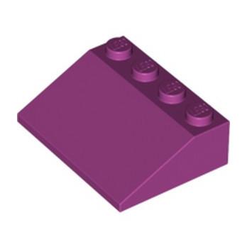 LEGO 4599548 TUILE 3X4/25° - MAGENTA