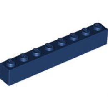 LEGO 6277303 BRIQUE 1X8 - EARTH BLUE